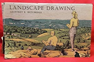 Landscape Drawing by Geoffrey E Hutchings