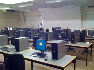 Computing teaching laboratory