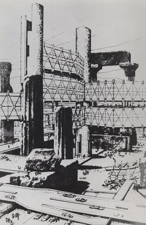 Future City (Incubation Process), 1962 Isozaki