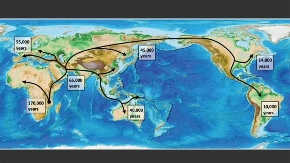 Multidisciplinary research maps human migration out of Africa