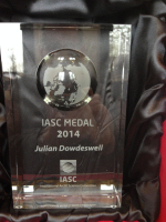 Julian Dowdeswell awarded the IASC Medal for 2014