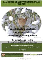 Cambridge Conservation Seminars 2014-2015