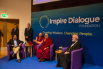Dr. Bhaskar Vira chairs H.H. the Dalai Lama and Lord Rowan Williams in Dialogue session on Environment