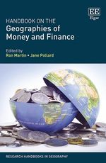 New book: Handbook on the Geographies of Money and Finance