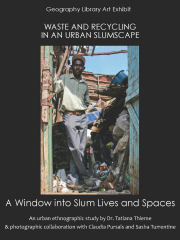 Waste and recycling in an urban slumscape: a window into slum lives and spaces