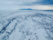 Antarctic ice-shelf hydrology, instability and break-up