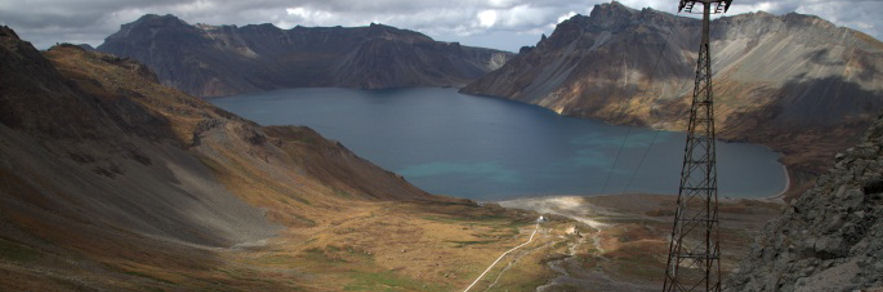 Volcanological and geophysical research on Paektu volcano, Democratic People's Republic of Korea